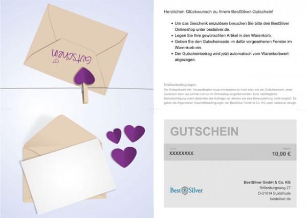 BestSilver Geschenk Gutschein