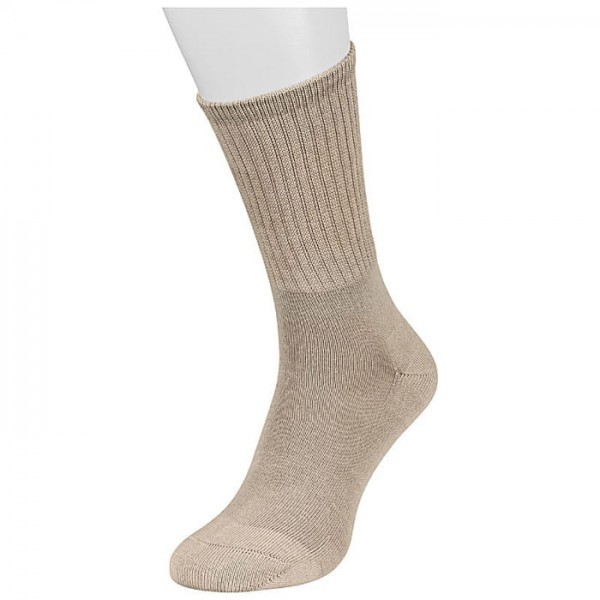 Silber ESD Socke ohne Gummi DIN 61340