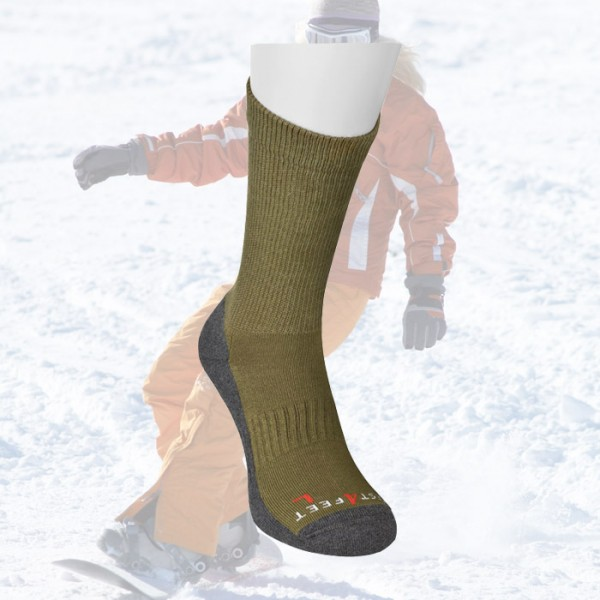 Skisocken kurz