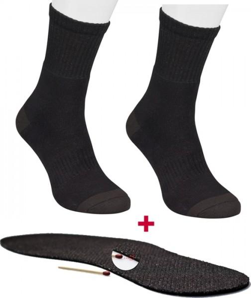 Warme Füße Packung