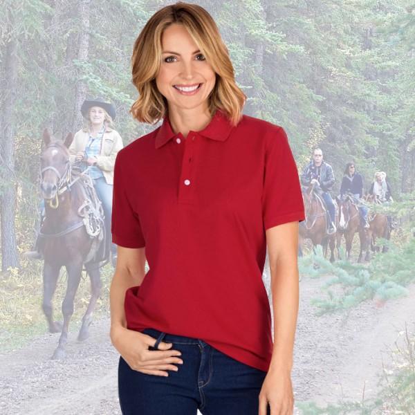 Reit-Poloshirt
